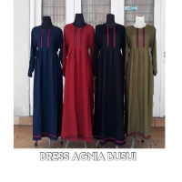 maxidress/ gamis/ dress busui/ DRESS susun sabrina/ dress syari agnia