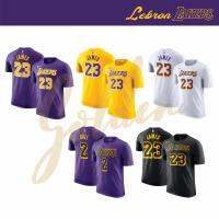Lebron James Lakers tshirt / basketball tshirt / size dewasa