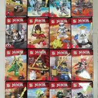 SY 1110 Minifigures Ninjago Set isi 16pcs