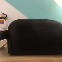 ORGINAL MINISO POUCH - Tas kosmetik semicircle cosmetic bag murah