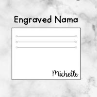 TAMBAHAN ENGRAVED NAMA