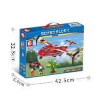 Sembo 603038 City Fire Plane