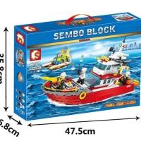 Sembo 603036 City Fire Rescue Boat