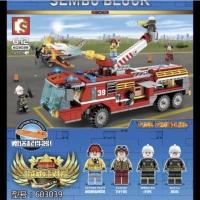 Sembo 603039 City Airport Fire Truck