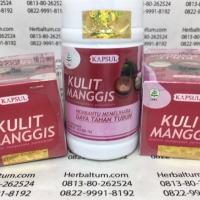 Kapsul Kulit Manggis - Obat Kanker, Tumor (Garcinia mangostana)