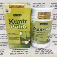 Herbal Kunir Putih 60 Kapsul Tazakka