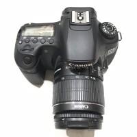 Canon EOS 60D kit 18-55mm IS II SC 13ribuan mulus