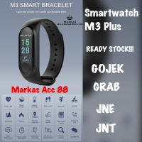 LUMIN M3 PLUS SMARTBAND SMART WATCH JAM TANGAN XIAOMI MI BAND 3 MIBAND