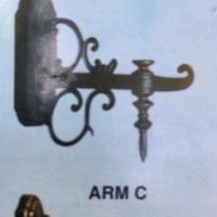 Fiting lampu dinding hias (hitam,tembaga ,emas)
