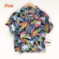 baju / Pantai / Kemeja Lengan pendek / summer shirt / daun / beach oke