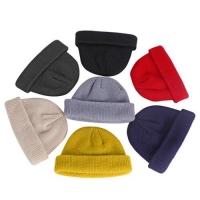 Short Beanie Hat Skate / Kupluk Pendek