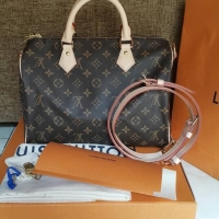 7e00dd571262 Tas LV Louis Vuitton Speedy Bandou Bandouliere 25 Asli   Ori