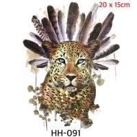 Tato temporer Leopard - Macan Tutul HH 091