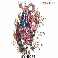 Tato Oriental chinese Creatures - SYB071