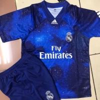 Jersey Anak / Kids Real Madrid EA Sport 4Th 2019 - 2020 Grade Ori