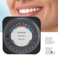 Alicedental Bracket Ceramic Behel Orthodontic Roth 022 345 hook
