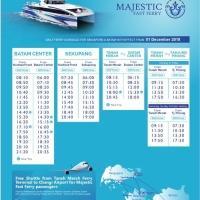 Harga tiket kapal ferry one way majestic harbour front batam | antitipu.com