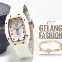 JAM TANGAN RM KULIT FREE GELANG 0636