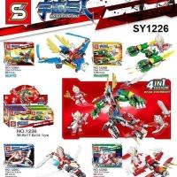 SY 1226 Mini Set Ultraman 4 in 1 Universe Giant