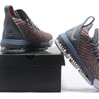 f5a3c21d573f Sepatu Basket - Nike Lebron 16 Grey Multicolor - PRM