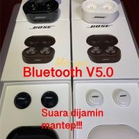 Headset bluetooth bose Wireless earphone bluetooth isi kiri kanan V5.0