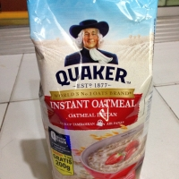 Quaker oat instant oatmeal 800+200g 1kg