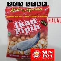 Amplang Kuku Macam 200 Gram Cap Ikan Pipih Asli Original