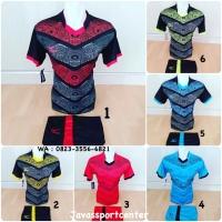 Baju Volly Jersey Olahraga Futsal Kaos Bola Setelan Voli Volley Mizuno 69f48f6afb