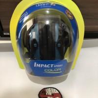 Howard impact sport. Blue. Earmuff