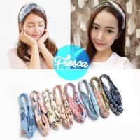 Bando Korea / Korean Hair Band / Bandana / Turban / Simpul Twist
