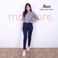 Celana jeans highwaist / highwaist jeans / Hw jeans