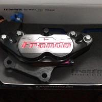 Frando Caliper 4Piston CNC(Made In Taiwan)Vespa GTS Front