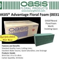 OASIS Advantage Floral Foam Moss Savana Wasis basah barang florist