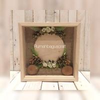 Frame 3D mahar uang kertas siap Pakai Sudah di decor .
