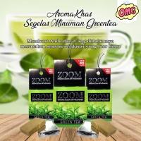 Parfum ZOOM GREEN TEA - pengharum merk ZOOM - parfum mobil aroma teh
