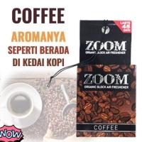 Parfum ZOOM COFFEE - pengharum merk ZOOM - parfum mobil aroma kopi