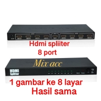 HDMI SPLITTER 1-8 / HDMI Splitter 8 port 1080p full HD