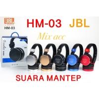 Headset bluetooth JBL handsfree headset bluetooth wireless HM-03