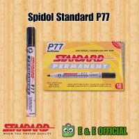 SPIDOL PERMANENT STANDARD BLACK / HITAM
