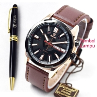 Jam tangan TETONIS KULIT ORI WR FREE PULPEN TS67