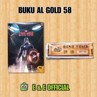 BUKU TULIS AL GOLD 58 LEMBAR
