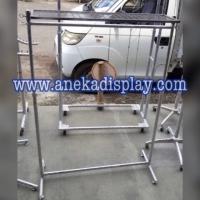 Gawang Ram Chrome 1m Stabil