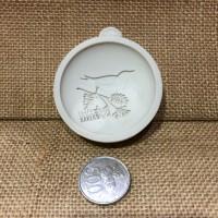 Silicone Mould Bird Leaf /cetakan silikon burung