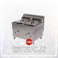 Gas DEEP FRYER 18Lx2