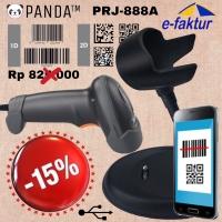 2D BARCODE SCANNER E-FAKTUR PANDA PRJ-890A AUTO+STAND(QR Code-Efaktur)