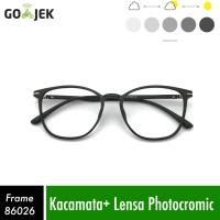 kacamata gaya kacamata 86026 kacamata minus wanita lensa bluray