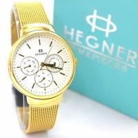 JAM TANGAN HEGNER PASIR GOLD ORIGINAL 5053