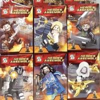 SY 673 Minifigures Marvel Super Heroes Set 6pcs
