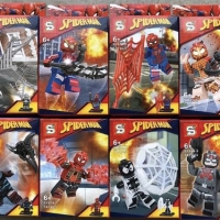 SY 674 Minifigures Spiderman isi 8