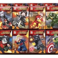 SY 621 Minifigures Marvel Avengers set isi 8